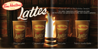 Tim Hortons Booklet