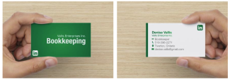 Bookkeeping Business Cards
